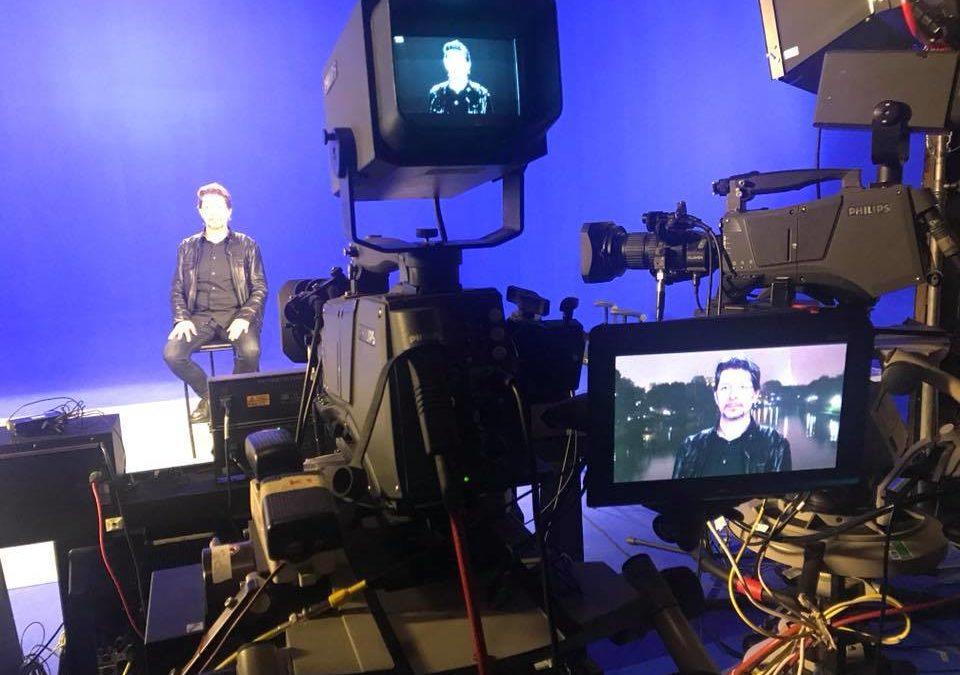 Eventi: intervistato dalla RAI