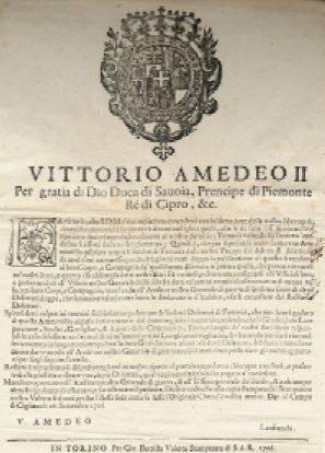 18 settembre 1706: accadde oggi, ieri, ier l'altro