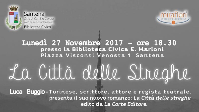 Eventi: presentazione alla biblioteca di Santena