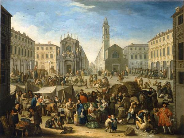 """La """"piazza delle armi"""" di Torino"""