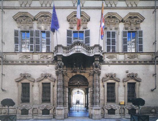 il Palazzo Beggiamo (oggi Lascaris) di Torino