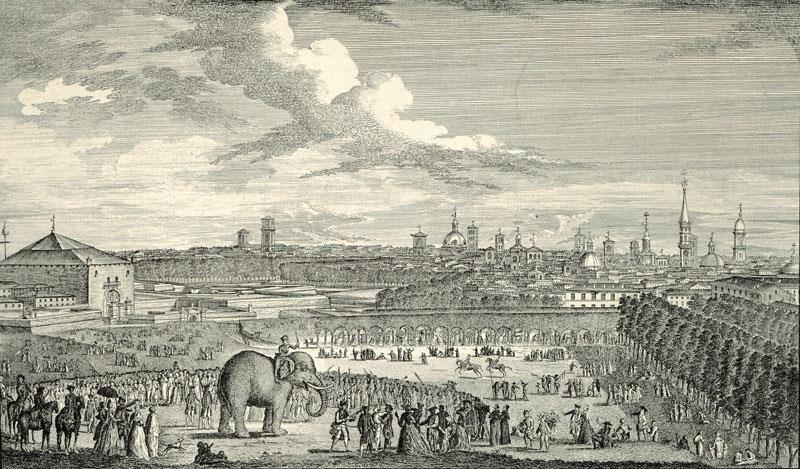 Torino vista dai viaggiatori del 1700