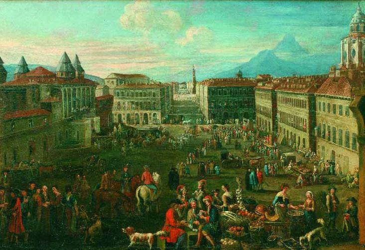 Gli abitanti della Torino di inizio 1700