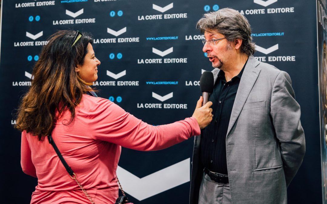 Eventi: intervistato dalla RAI al Salone del Libro di Torino 2019
