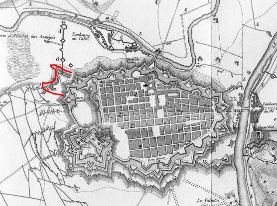 1-2-3 giugno 1706: accadde oggi, ieri, ier l'altro: linee di trincea e linee di comando