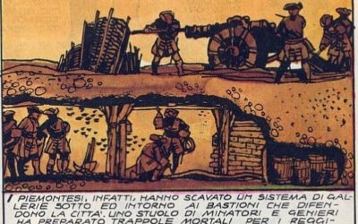 12-13 luglio 1706: accadde oggi, ieri, ier l'altro: scoppiano le mine