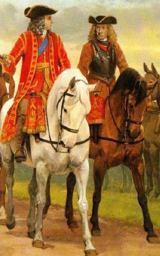 29 agosto 1706: accadde oggi, ieri, ier l'altro: il principe Eugenio incontra il Duca
