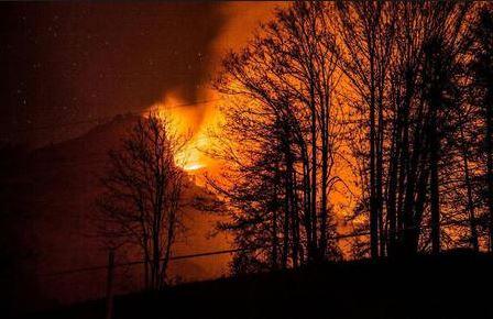 23 agosto 1706: accadde oggi, ieri, ier l'altro: la collina va in fiamme