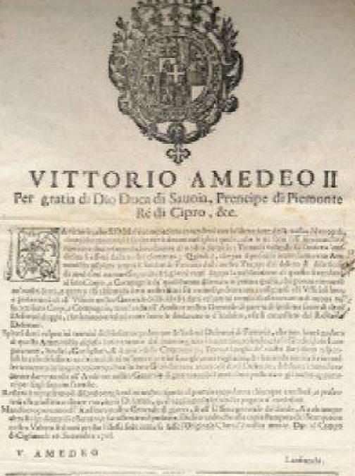 """26 settembre 1706: accadde oggi, ieri, ier l'altro: i """"postumi"""" della battaglia"""